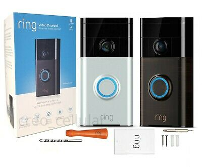 Ring Video Doorbell Wi-Fi Enabled HD Camera 720p Works with Alexa