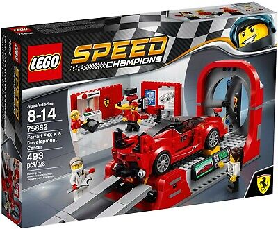 LEGO Speed Champions (75882) Ferrari FXX K & Development Center **NEW & SEALED**