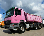 Mercedes-Benz Actros 2644 6x4 Meiller Kipper Bordmatic