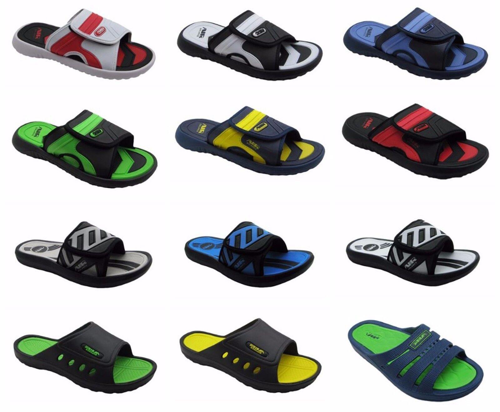 Men Sandals Sports Slip on Slide Comfortable Shower Beach Sp