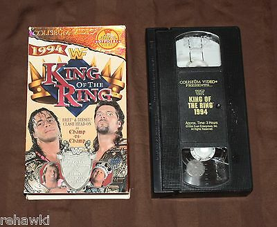 WWF - King of the Ring '94 (VHS, 1994) RARE WCW WWE