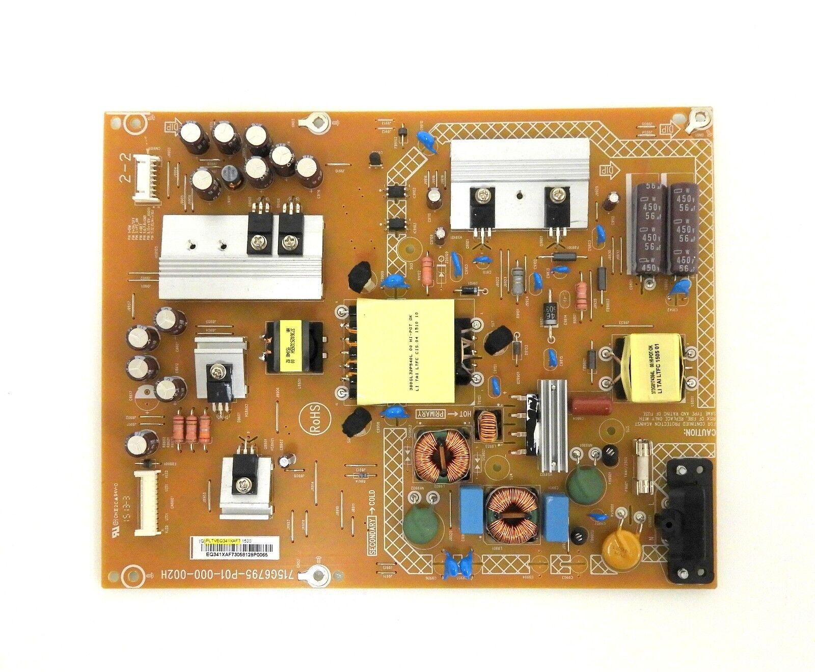 NEC E425 Power Supply Board PLTVEQ341XAF7 , 715G6795-P01-000