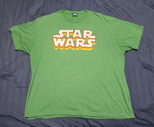 RARE VINTAGE OFFICIAL STAR WARS T-Shirt w/ LUCASFILM LTD. TAG Size 2X Large