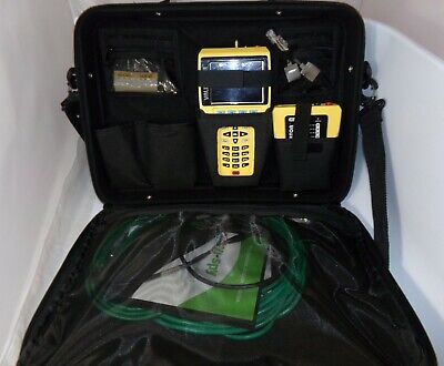 Test-um Jdsu Network Lan Ethernet Cable Tester Validator Nt900 With Cables