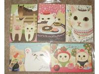 CLEARANCE 2pcs JETOY Choo Choo Cat Soft Neck Strap Lanyard Set