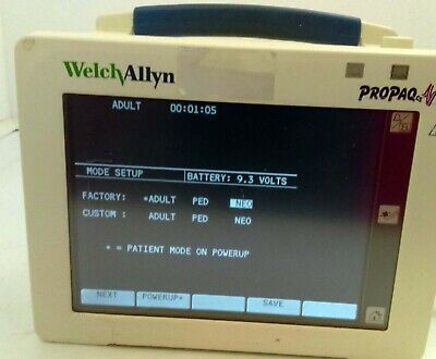 Welch Allyn Propaq Cs 246 Patient Monitor -- 4e-3
