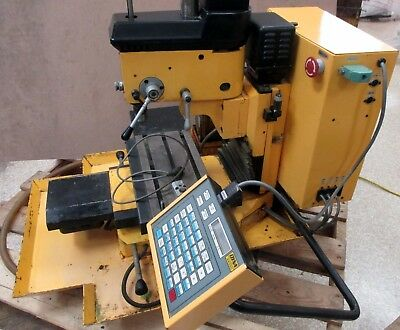 Dyna Myte Dm2400 Cnc Vertical Milling Machine