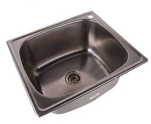LARGE LAUNDRY SINK STAINLESS STEEL - NEW EX DISPLAY Kogarah Rockdale Area Preview