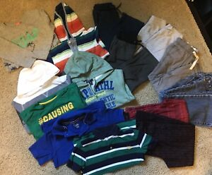 Boys XS (size 5) clothing lot