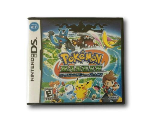 NIB Sealed Nintendo DS Game Pokemon Ranger Shadows of Almia Free Shipping