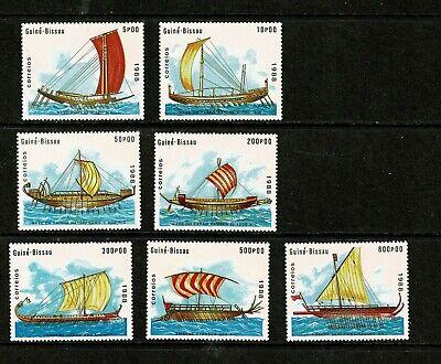 DF429 GUINEA BISSAU 1988 Sailing ships  MNH