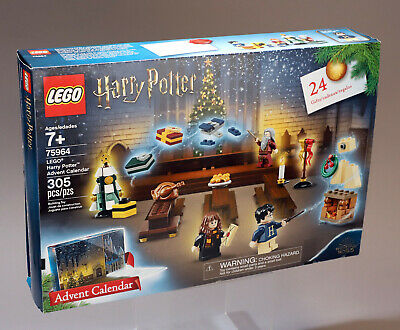 Lego Harry Potter Advent Calendar 305 Pieces Set Number 75964 New In Box