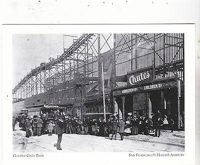 Postcard  Golden Gate Park   Family Entertainment  S F S Haight Ashbury  A21