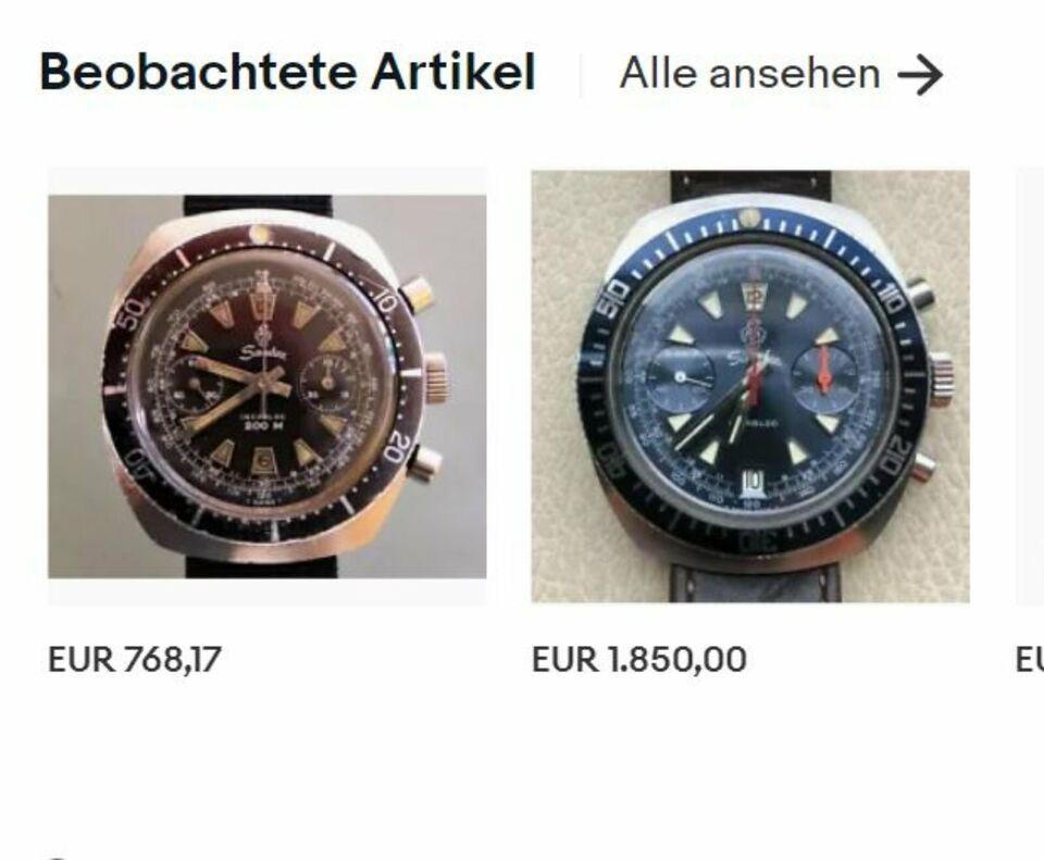 Sandoz Chronograph Vintage voll funktionstüchtig 60-iger in Rostock - Stadtmitte