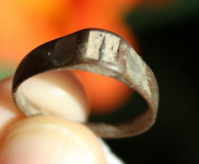 Bronze medieval ring, from Pakistan, size 9