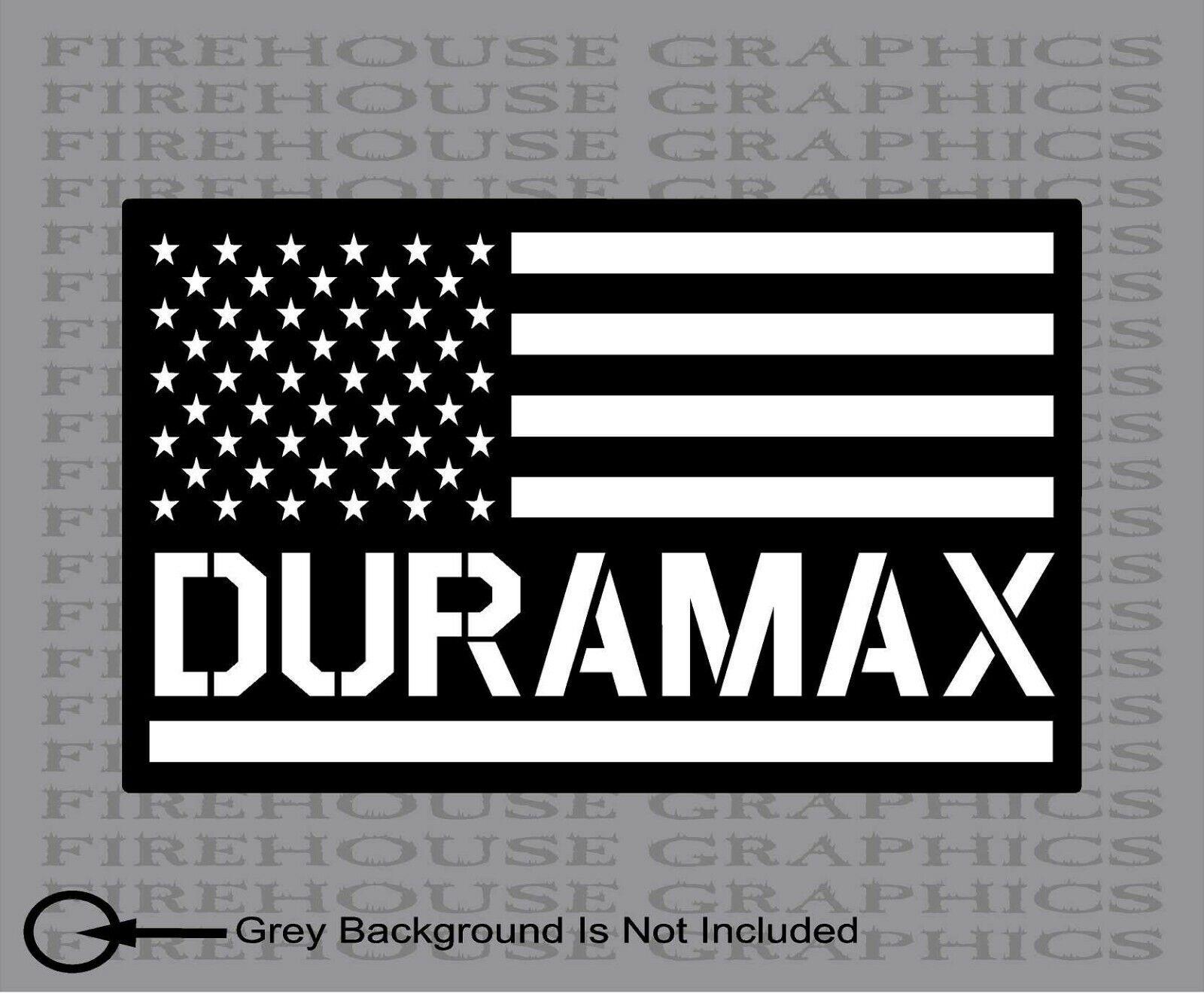 Chevy American Flag chevy American Flag UAS Dieasl Decal Sticker Truck Sticker 1
