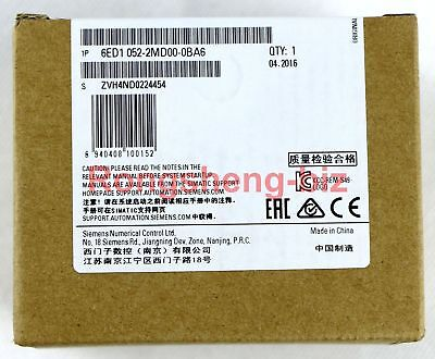 Siemens 6ed1052-2md00-0ba6 Logo Logic Plc Module 8ip 4op 12v24v New In Box
