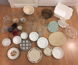 Assortment of Dishes