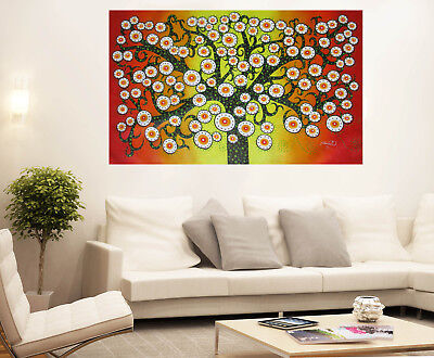 DOT tree Art Oil Painting Choose Colours Match Your Room Design Great Service Choose Color Original Design