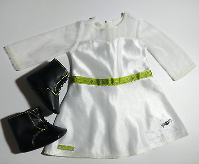 DOLL clothes White Dress and Shoes fit for 18 Inch American Girl on Rummage
