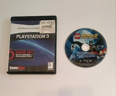 LEGO Batman 2: DC Super Heroes (Sony PS3, 2012) Disc Only