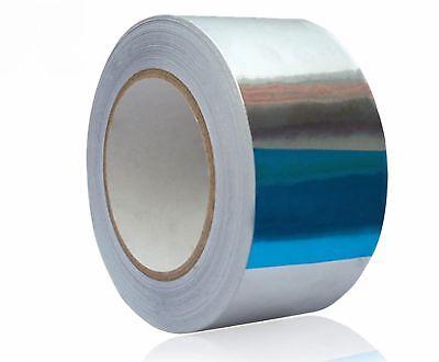 82ft X 1.88 Aluminum Foil Heat Shield Tape Reflector Sealing Adhesive 25msn-t
