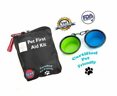 Pet First Aid Kit for Dogs And Cats | 25 Piece First Aid Kit For Your Pets | ...