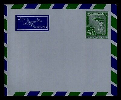 DR WHO PAKISTAN AIRMAIL STATIONERY UNUSED C242674