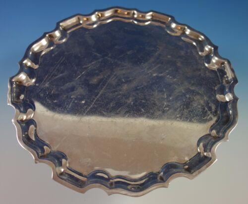 Graff, W & D Sterling Silver Tray Round #G23 (#1582)