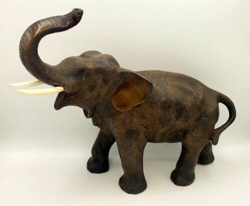 Meiji Period (1868 - 1912) Japanese Bronze Elephant Art Sculpture Statue