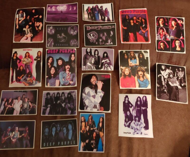 Deep Purple Rock Group Stickers