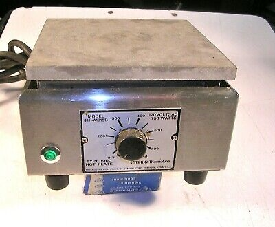 Thermolyne Type 1900 Hotplate Tested