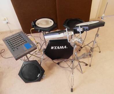 TAMA TECHSTAR T5350 VINTAGE ELECTRONIC DRUMKIT  FOR SALE Sunbury Hume Area Preview