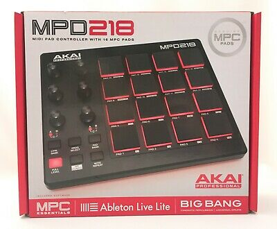 AKAI Professional MPD218 Midi Pad Controller With 16 MPC Pads