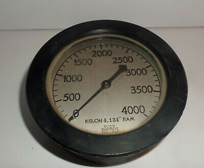 Hydraulic Ram Pressure Force Gauge S-6
