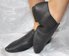 JAZZ Dance Shoes Split Sole Leather Black variety sizes unisex Brisbane City Brisbane North West Preview