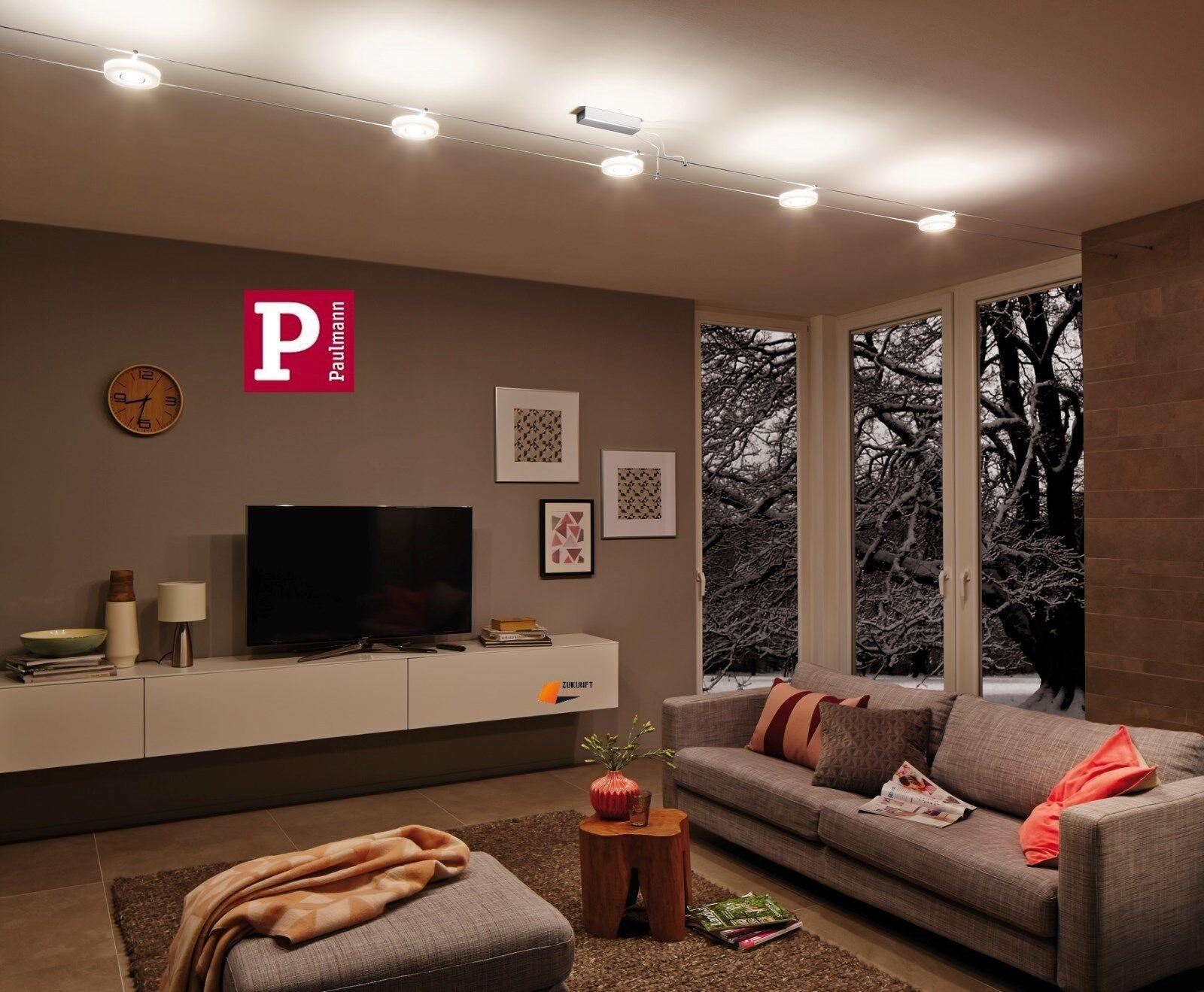 paulmann led seilsystem discled i 5x4w 12v neuste led technik art 94109 new eur 199 95. Black Bedroom Furniture Sets. Home Design Ideas