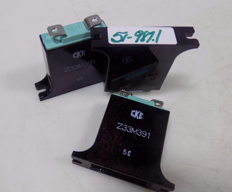 CKE VARISTOR Z33M391  LOT OF 3