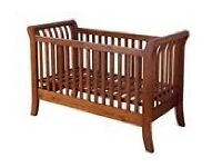 KUB Walda cot bed/toddler bed/day bed, with pocket sprung mattress.