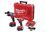 MILWAUKEE 2797-22 M18 FUEL HAMMER DRILL/DRIVER AND IMPACT COMBO
