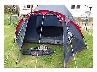 Campus Torino 3 Tent – 3 person – used £25