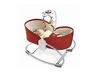 Tiny Love 3 -in1 rocker/bed 0 - 6 months as new