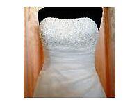 Ellis Bridal Ivory Wedding Dress