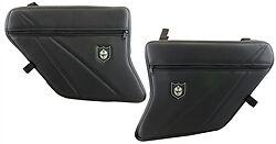Traditional Pro Armor Door Knee Pads w/ Storage (Black/Black) XP1K # P144055