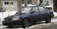 Toyota Corolla Berline 2002 bleu