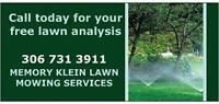 MemoryKleinLawn mowing and yard clean up services in Lumsden Sk
