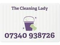 THE CLEANING LADY - DOMESTIC CLEANING ONLY