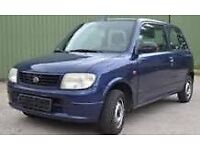 Daihatsu 1L, cheap insurance&fuel usage