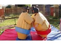 SUMO WRESTLING SUITS AND RING HIRE, MUCH MORE AVAILABLE