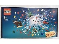 Lego 40253 - 24 in 1 Christmas Countdown Set - Brand New and Sealed